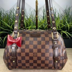 Authentic Louis Vuitton Rivington PM Damier Ebene